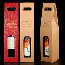 gift packaging for wine bottles 750 ml custom cheap paper single wine bottle packaging gift