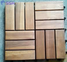 Teak Floor Tiles Outdoors by Wooden Deck Tiles Wooden Garden Decking Tiles Outdoor Flooring