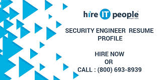 Security Engineer Resume Security Engineer Resume Profile Hire It People We Get It Done