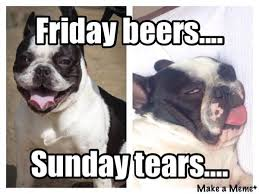 French Bulldog Meme - tom briànt on twitter this is a mates dog haha meme beers dog