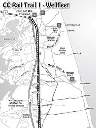cape cod rail trail 1 wellfleet trail map