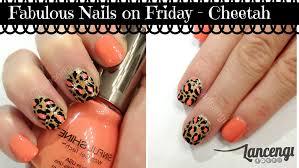diy easy u0026 cute nail art designs 5 classy cheetah nails youtube