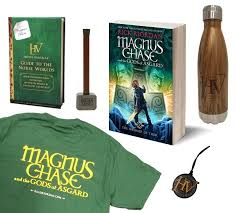 enter our magnus chase the hammer of thor giveaway laughingplace com