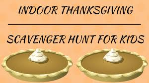 thanksgiving scavenger hunt scavenger hunt