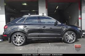 audi q3 19 inch wheels 19x8 5 style5477 matte grey 5 112 p35 style by au tempe tyres