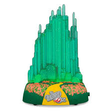 the wizard of oz emerald city musical ornament with lights