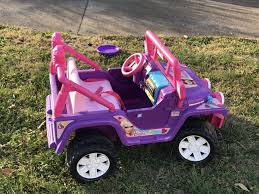 barbie jeep power wheels find more barbie jeep 12v for sale at up to 90 off