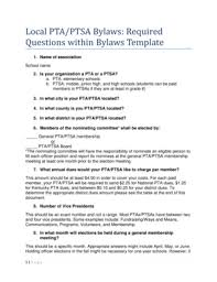 free bylaws template forms fillable u0026 printable samples for pdf
