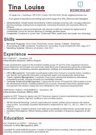 Administrative Assistant Resume Objectives Resume Objective Samples 2016 Experience Resumes