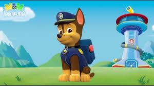 coloring paw patrol chase german shepherd pup police