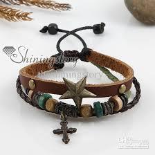 hand bracelet men images 2018 cross leather men bracelet charms bracelets hand made jewerly jpg
