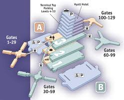 mco terminal map available disney homes airport and airline information
