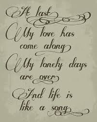 wedding quotes about time quotes about wedding etta at last one of my all