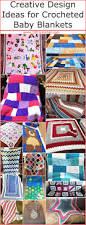 creative design ideas for crocheted baby blankets 1001 crochet