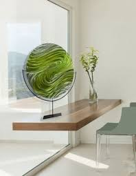 green modern metal painting contemporary metal wall art bright