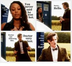 Hot Doctor Meme - you li sorry hello never you said he said he was funny was hot