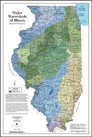 of illinois map illinois watersheds map illinois state water survey