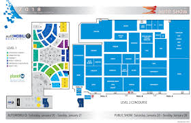 cobo hall floor plan guide 2018 north american international auto show in detroit cbs