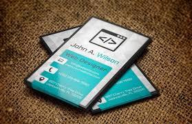 50 best free psd business card templates