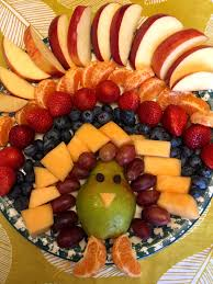 thanksgiving appetizer thanksgiving turkey shaped fruit platter appetizer recipe