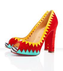 christian louboutin red tibu 120mm peep toe pumps my color fashion