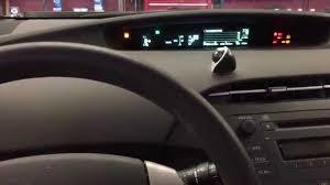 how to reset toyota prius maint reqd light