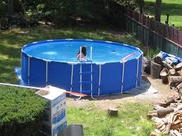 exterior enchanting blue family pools design of pools walmart for