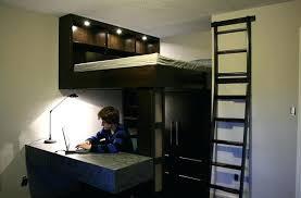 lit sureleve avec bureau lit mezzanine avec bureau lit mezzanine chez maison du