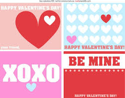 kids valentines cards free printables kid cards curbly
