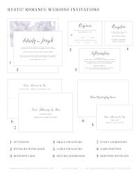 rustic romance wedding invitations wedding invitations by shine