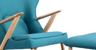Modernist Chair by Cub Chair U0026 Ottoman Urban Surf Ash Kardiel