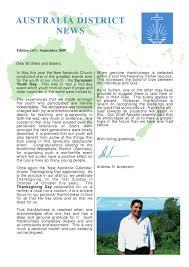 september 2009 australia district news by new apostolic church