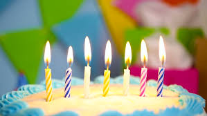 birthday cake candles simple white birthday cake with cake candles stock footage