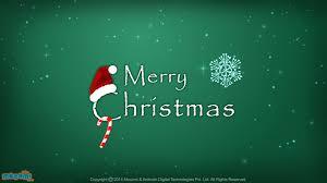 merry santa hat desktop wallpapers for mocomi