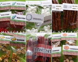 minecraft party favors 2014 party favors minecraft party labels 38 toppers pdf diy