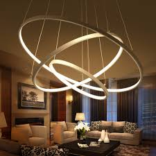 Pendant Lights For Living Room Modern Pendant Lights For Living Room Dining Room 3 2 1 Circle