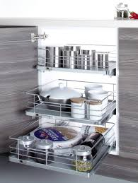amazing kitchen storage solutions pull out storage basket thee