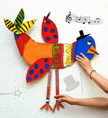 krokotak big cardboard birds