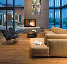 Two Sided Couch 34 Modern Fireplace Designs With Glass For The Contemporary Home