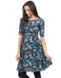 maternity wear florrie printed woven maternity dress seraphine
