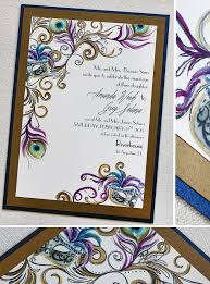masquerade wedding invitations amanda s gold purple and blue masquerade wedding