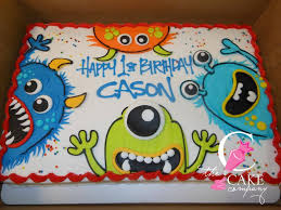 little monster cake cakes u0026 things pinterest monsters cake