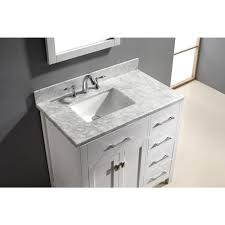 46 inch vanity cabinet abodo 36 inch white caroline parkway single sink bathroom vanity