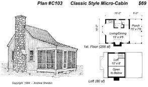 building plans for cabins cabin floor plans small free adhome