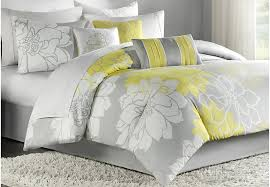 an introduction to gray and yellow bedding sets lostcoastshuttle