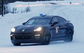 Porsche Cayenne Coupe - porsche cayenne coupe spied with electrified powertrain vehicle