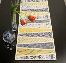 wedges table runner quilt pattern