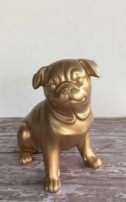 pug life pug statue gold statue gold pug any color zoom