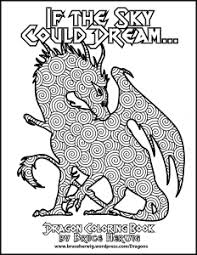 dragon coloring book u2013 bruce herwig u2013 color redlands