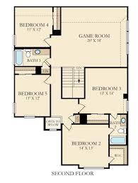Game Room Floor Plans by Lennar Floorplans